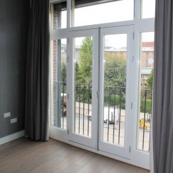 Splendid modern apartment with balcony and one of the best views in Amsterdam!