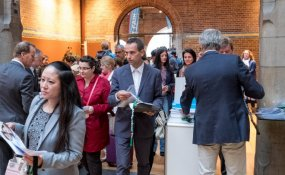 Expatica attracts expat crowd with two events under one roof