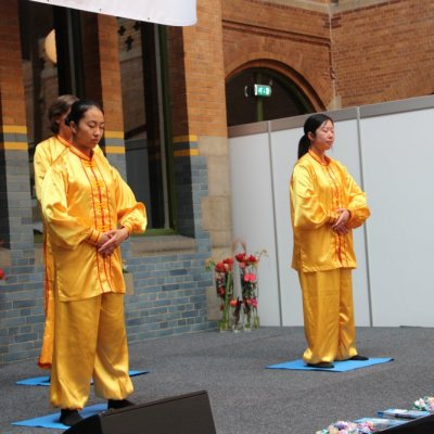 Falun Dafa, excercise to a state of wisdom - Falun Gong Stichting Nederland